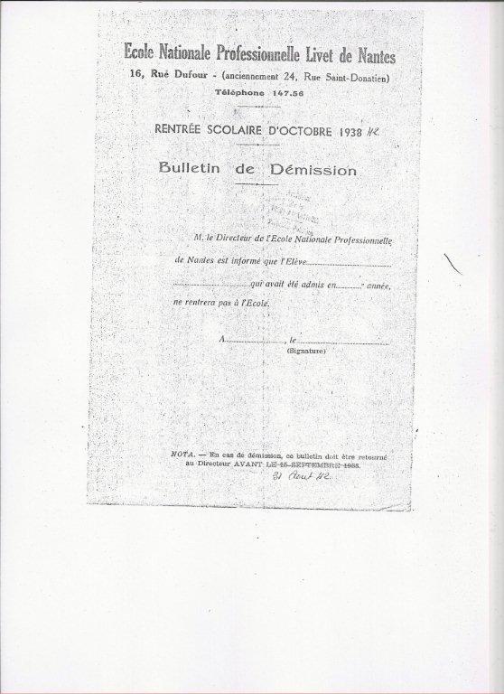 Livet Histoire Fr être Livétien Entre 1939 Et 1945